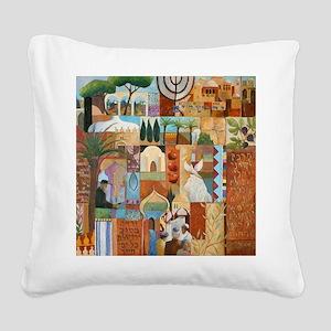JERUSALEM Square Canvas Pillow