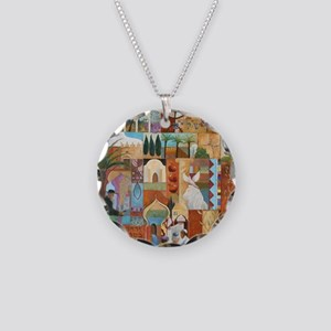 JERUSALEM Necklace Circle Charm
