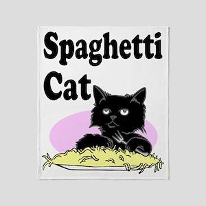 spaghetticat Throw Blanket
