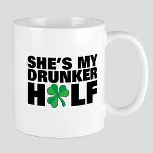 She's My Drunker Half Irish Mugs