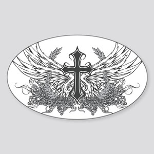 Tatcross Sticker (Oval)