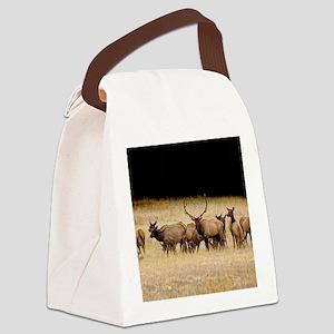 Elk 9x12 Canvas Lunch Bag