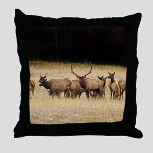 Elk 9x12 Throw Pillow