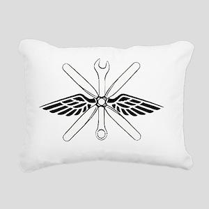 bigmechanicshirt Rectangular Canvas Pillow