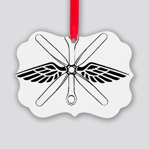 bigmechanicshirt Picture Ornament