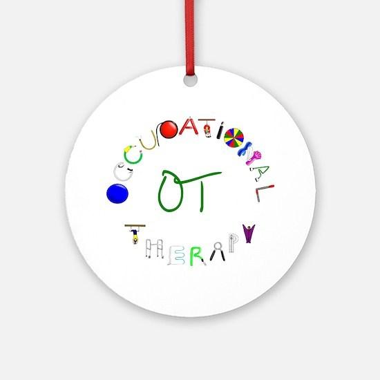 OT3 green Round Ornament