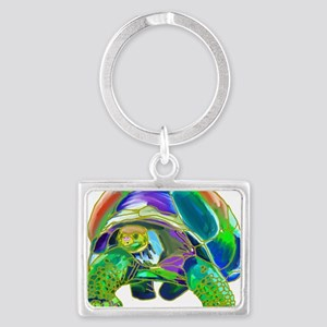 Tortoise1 Landscape Keychain