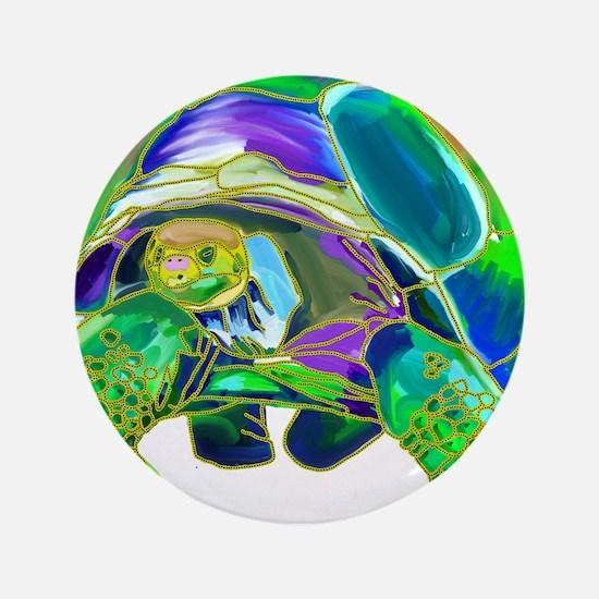 "Tortoise1 3.5"" Button"