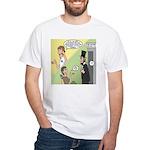 Ask Abe White T-Shirt
