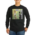 Ask Abe Long Sleeve Dark T-Shirt