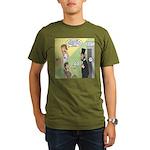 Ask Abe Organic Men's T-Shirt (dark)