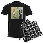 Ask Abe Men's Dark Pajamas