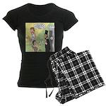 Ask Abe Women's Dark Pajamas