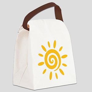 sun_2010_twist Canvas Lunch Bag