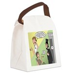 Ask Abe Canvas Lunch Bag