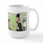 Ask Abe Large Mug