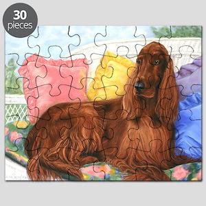 Irish Setter Dog Puzzle