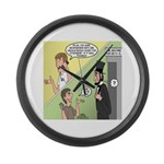Ask Abe Large Wall Clock