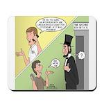Ask Abe Mousepad