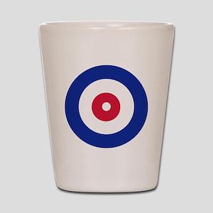 curling_circle Shot Glass
