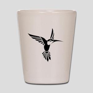 Tribal Humming Bird Shot Glass