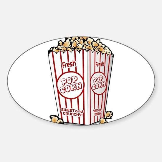 Movie Popcorn Bumper Stickers