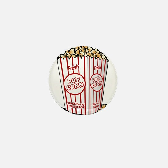 Movie Popcorn Mini Button