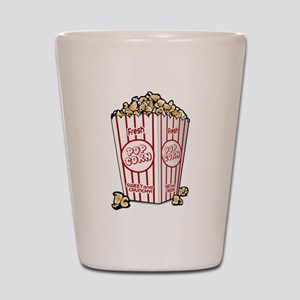 Movie Popcorn Shot Glass