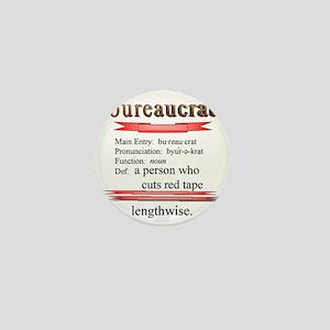 Bureaucrat Mini Button