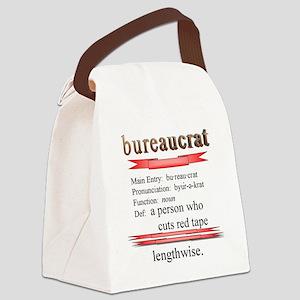 Bureaucrat Canvas Lunch Bag