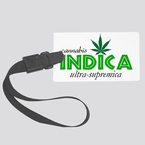INDICA SUPREMICA Large Luggage Tag