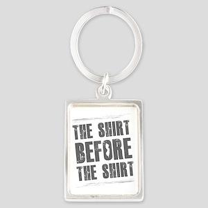 Jersey Shore Shirt Portrait Keychain