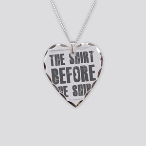 Jersey Shore Shirt Necklace Heart Charm