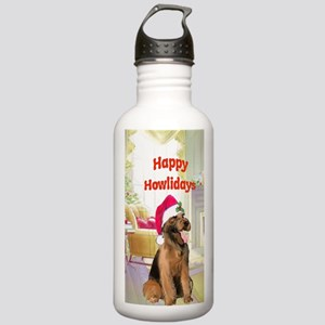 2-airedale card Stainless Water Bottle 1.0L