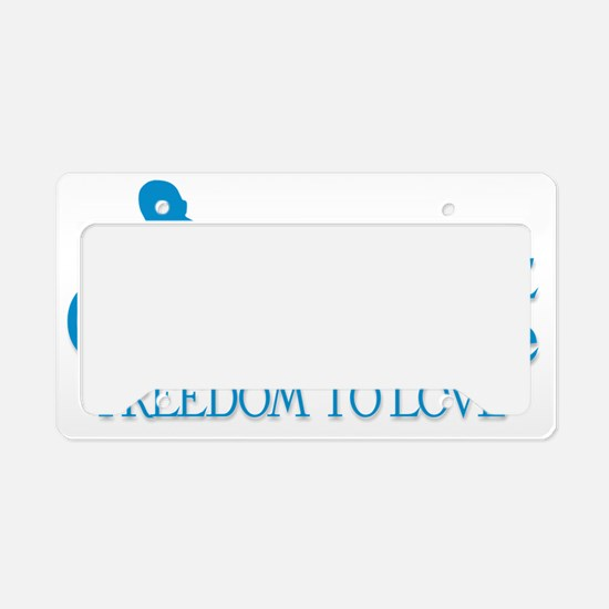 Pro Life License Plate Holder