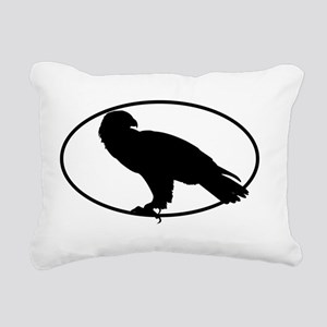 5x3oval_sticker_conglome Rectangular Canvas Pillow