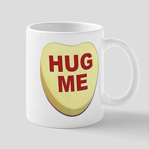 Hug Me Valentine Candy Heart Mug