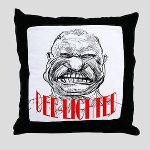 ART TR is Dee-lighted 2 Throw Pillow