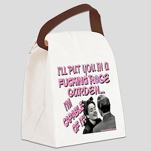 rosegardentshirt Canvas Lunch Bag