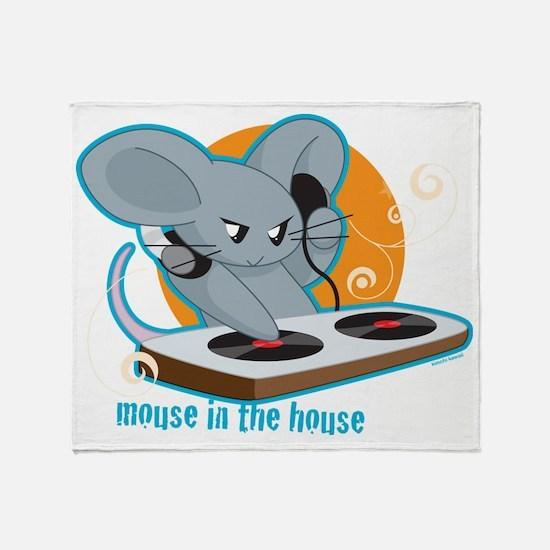 Mousehouse Throw Blanket