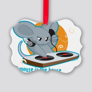 Mousehouse Picture Ornament
