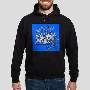 Marching Band Roadie Blue Sweatshirt
