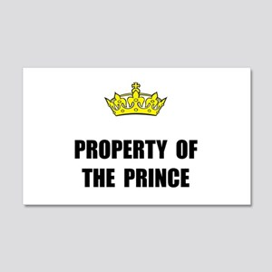 Property Of Prince Wall Decal