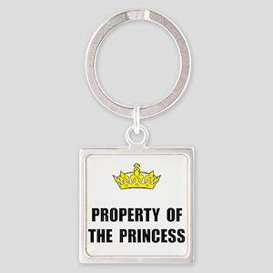 Property Of Princess Keychains