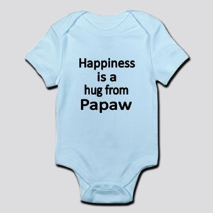 Happiness is a hug from Papaw Body Suit