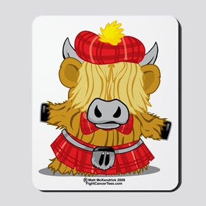 Highland-Cow-Red-Kilt-2009 Mousepad