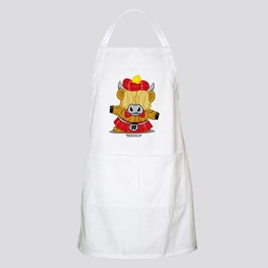 Highland-Cow-Red-Kilt-2009 Apron