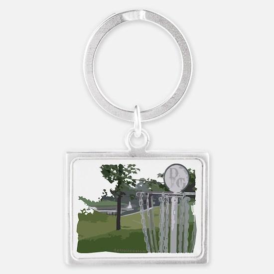 dg_25 Landscape Keychain