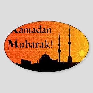ramadanmubarak Sticker (Oval)
