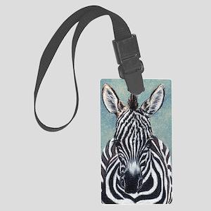 Zebra-Large Large Luggage Tag